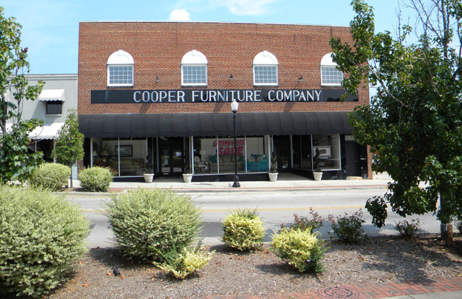 Cooper Furniture   Store Front